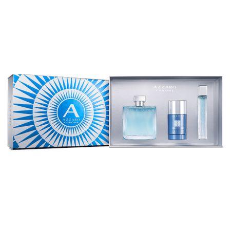Azzaro Chrome Eau de Toilette Azzaro Kit - Perfume Masculino  + Miniatura +...