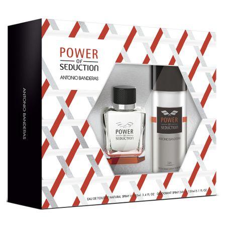 Antonio Banderas Power of Seduction Kit - Eau de Toilette + Desodorante - Kit