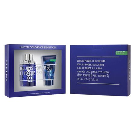 Benetton Colors Men Blue Kit - Eau de Toilette + Pós-Barba - Kit