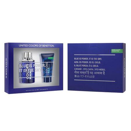 Benetton Colors Men Blue Kit - Eau de Toilette + Pós-Barba - Kit
