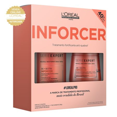 LOréal Professionnel Inforcer Kit - Shampoo + Máscara - Kit