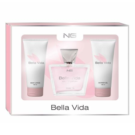 NG Parfum Bella Vida Kit - EDP + Loção Corporal + Gel de Banho - Kit