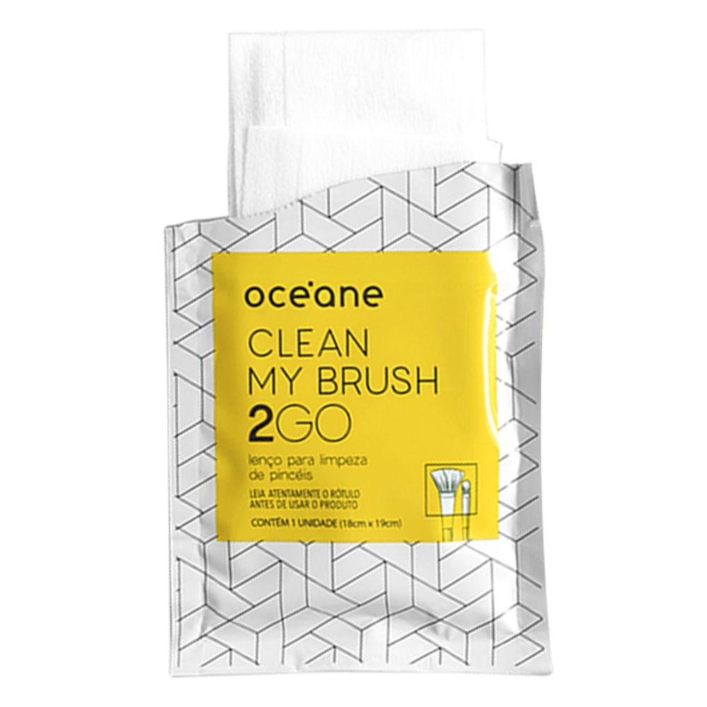 Lenços para Limpeza de Pincel Océane - Clean My Brush 2 GO