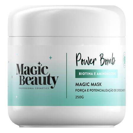 Magic Beauty Power Bomb - Máscara Capilar - 250g