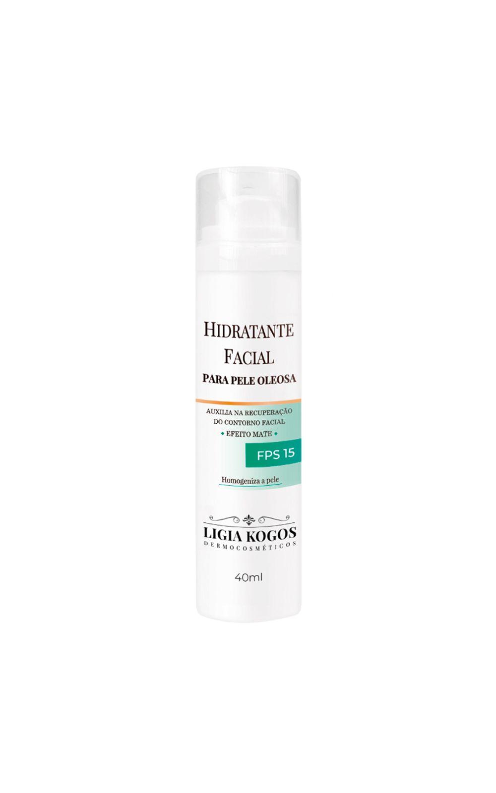 Foto 1 - Hidratante Facial para Pele Oleosa - Ligia Kogos - 40ml
