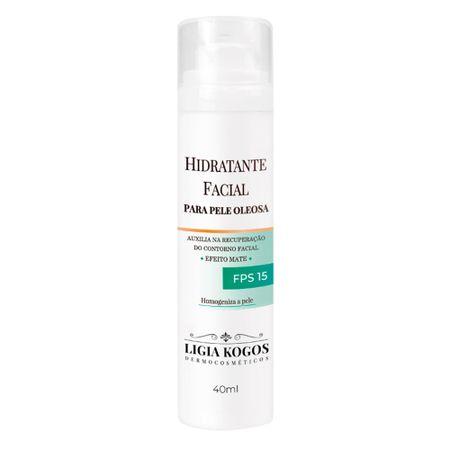 Hidratante Facial para Pele Oleosa - Ligia Kogos - 40ml
