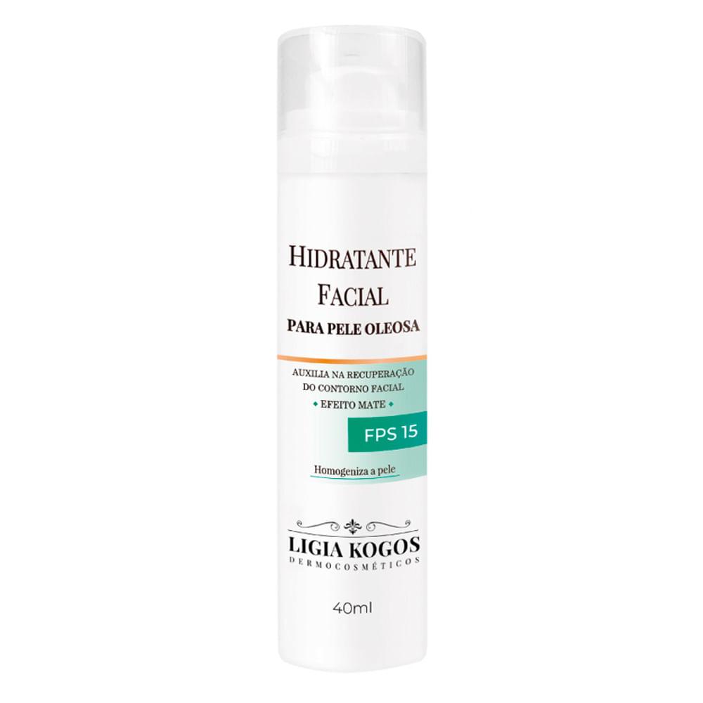 Hidratante Facial para Pele Oleosa - Ligia Kogos