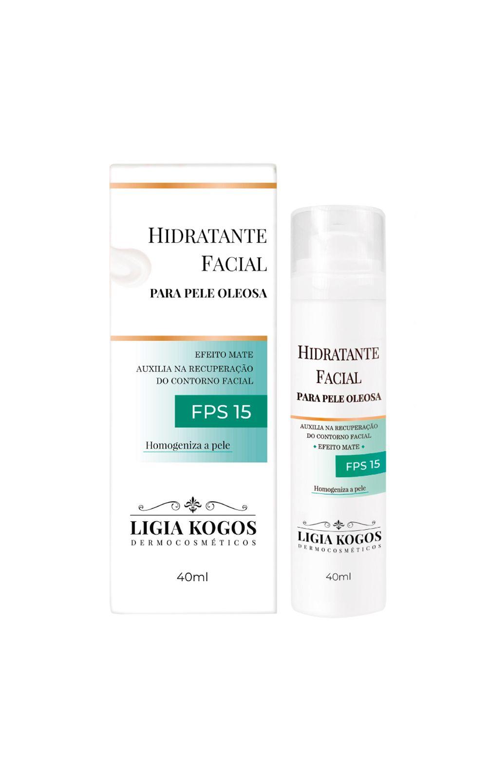 Foto 2 - Hidratante Facial para Pele Oleosa - Ligia Kogos - 40ml