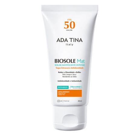 Protetor Solar Facial Ada Tina - Bisole Mat FPS 50 - 40ml