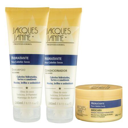 Jacques Janine Original Uso Diário Kit - Shampoo + Máscara - Kit