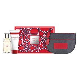 Kit-Tommy-Girl-Eau-de-Toilette---Perfume-Feminin---Gel-da-Benho---Necessaire-