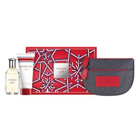 Kit Tommy Girl Eau de Toilette -  Perfume Feminino + Gel da Banho + Necessaire...