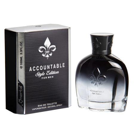 Accountable Style Edition Omerta Perfume Masculino - Eau de Toilette - 100ml