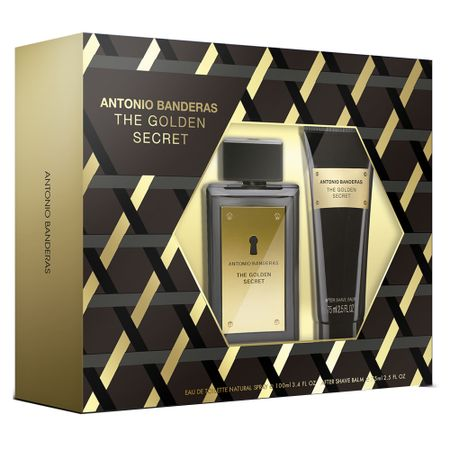 Antonio Banderas The Golden Secret Kit - Eau de Toilette + Pós Barba - Kit