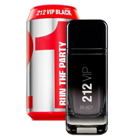 212 Vip Black Sport Collector Edition Carolina Herrera - Perfume Masculino Eau...