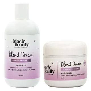 Kit-Blond-Dream-Magic-Beauty---Shampoo---Mascara