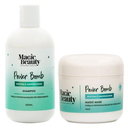Kit  Power Bomb Magic Beauty - Shampoo + Máscara - Kit