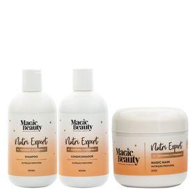 Kit-Nutri-Expert-Magic-Beauty---Shampoo---Condicionador---Mascara