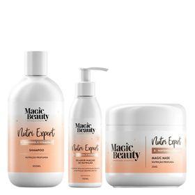 Kit-Nutri-Expert-Magic-Beauty---Shampoo---Mascara---Leave-in