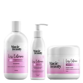 Kit-Liss-Extremesh-Magic-Beauty---Shampoo---Mascara---Leave-in