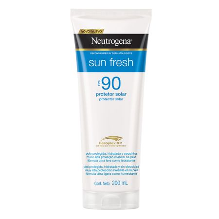 Protetor Solar Neutrogena Sun Fresh FPS 90 - 200ml