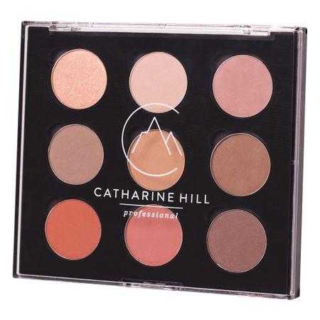 Paleta de Sombras 9 Cores  - Catharine Hill - 1 Un