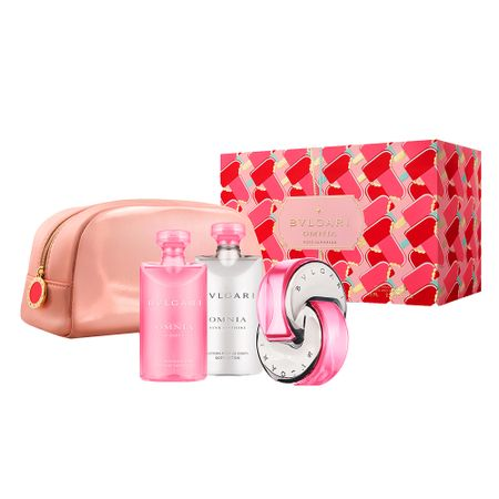 Bvlgari Omnia Pink Sapphire Kit - EDT + Gel de Banho + Loção Corporal +...