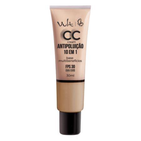 Base Facial Vult - CC Cream Antipoluição 10 em 1 - Mb03