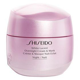Tratamento-Noturno-Shiseido---White-Lucent-Overnight-Cream---Mask