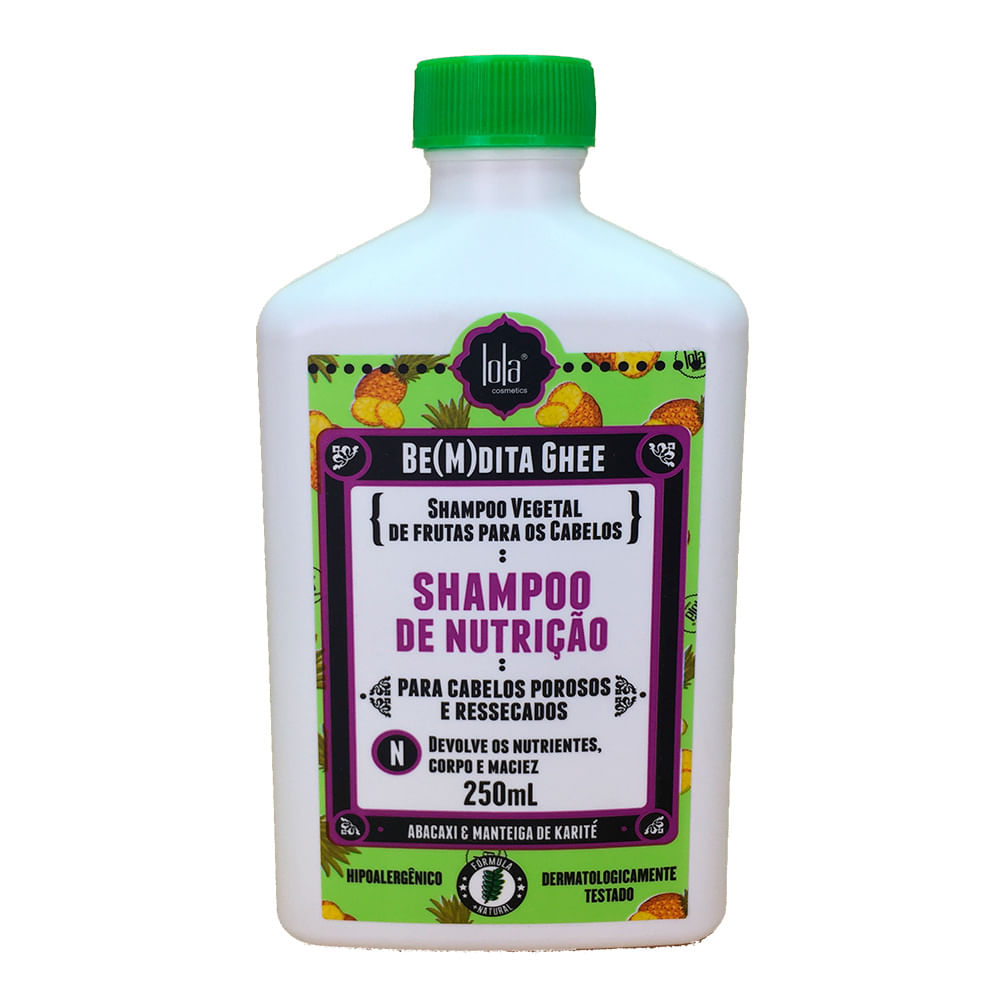 Lola Cosmetics Be(m)dita Ghee Abacaxi e Manteiga de Bacuri - Shampoo de Nutrição
