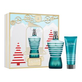 Kit-Le-Male-Eau-de-Toilette-Jean-Paul-Gaultier---Perfume-Masculino-125ml---Gel-de-Banho