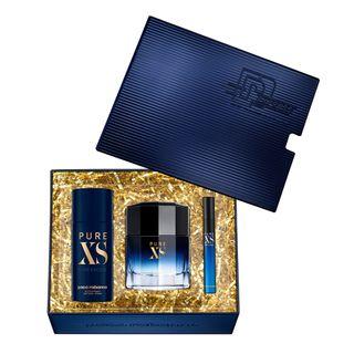 Kit-Pure-XS-Eau-de-Toilette-Paco-Rabanne---Perfume-Masculino-100ml---Desodorante---Travel-Size