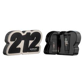 Kit-212-Vip-Black-Eau-de-Parfun-Carolina-Herrera---Perfume-Masculino-100ml---Gel-de-Banho