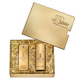 Kit-1-Million-Eau-de-Toilette-Paco-Rabanne---Perfume-Masculino-100ml---Desodorante
