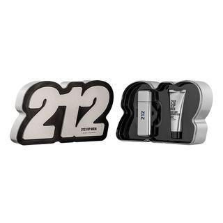 Kit-212-Vip-Men-Eau-de-Toilette-Carolina-Herrera---Perfume-Masculino-50ml---Gel-de-Banho