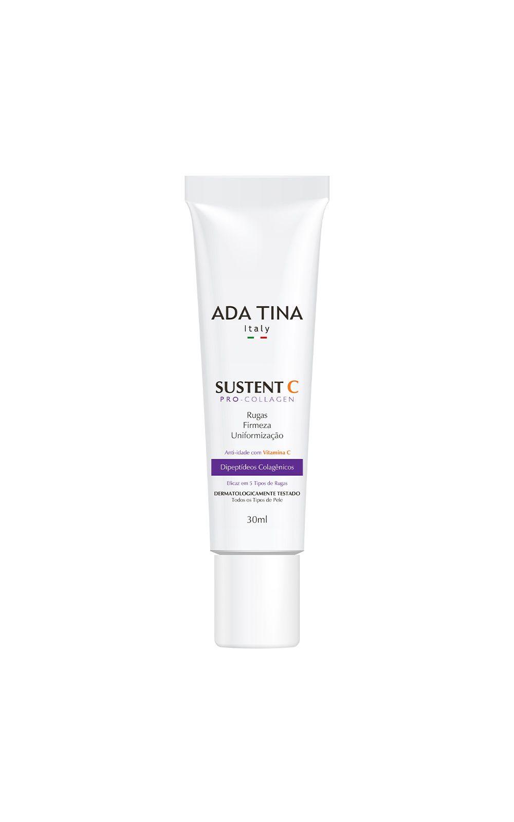 Foto 1 - Rejuvenescedor Facial Ada Tina Sustent C Pro Collagen - 30ml