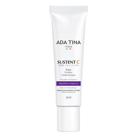 Rejuvenescedor Facial Ada Tina Sustent C Pro Collagen - 30ml