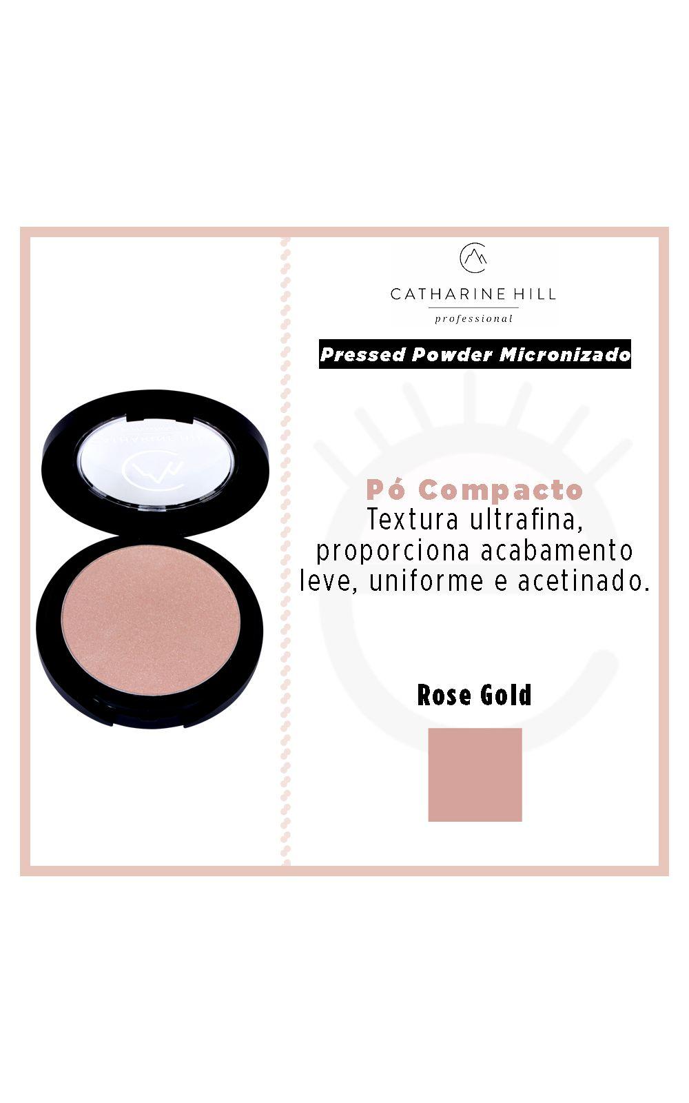 Foto 4 - Pó Compacto Catharine Hill Pressed Powder Micronizado - Rose Gold - Rose Gold