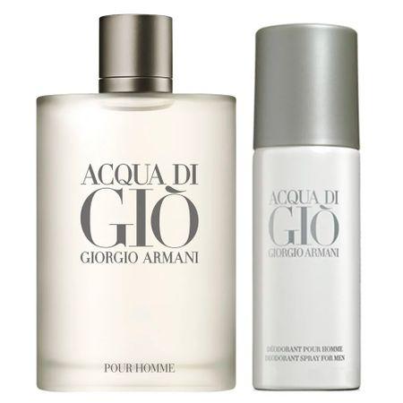 Kit Giorgio Armani - Acqua Di Giò Homme Eau de Toilette 200ml + Desodorante -...