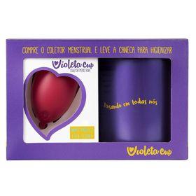 kit-violeta-cup-coletor-tipo-b-vermelho-caneca-higienizador