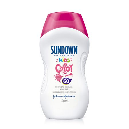 Protetor Solar Sundown Kids Color Tutti-Frutti FPS60 - 120ml