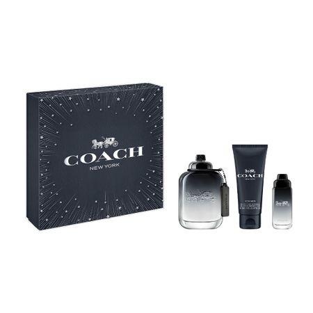 Coach For Men  Kit - Eau de Toilette + Gel de Banho + Mini - Kit