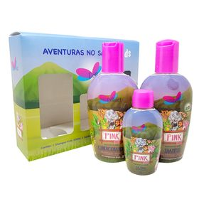 delikad-kids-safari-pink-kit-shampoo-condicionador-colonia