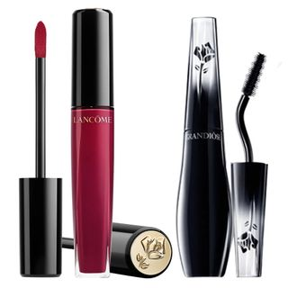 Kit-Lancome-Mascara-e-Brilho-Labial