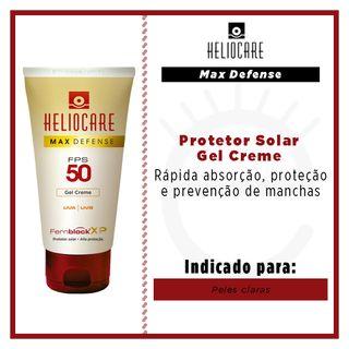 Protetor Solar Heliocare Max Defense Nude Light Melora