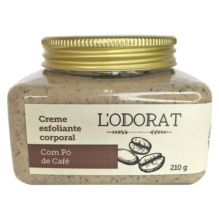 Creme Esfoliante Corporal Lodorat - Esfoliante Corporal - 210g
