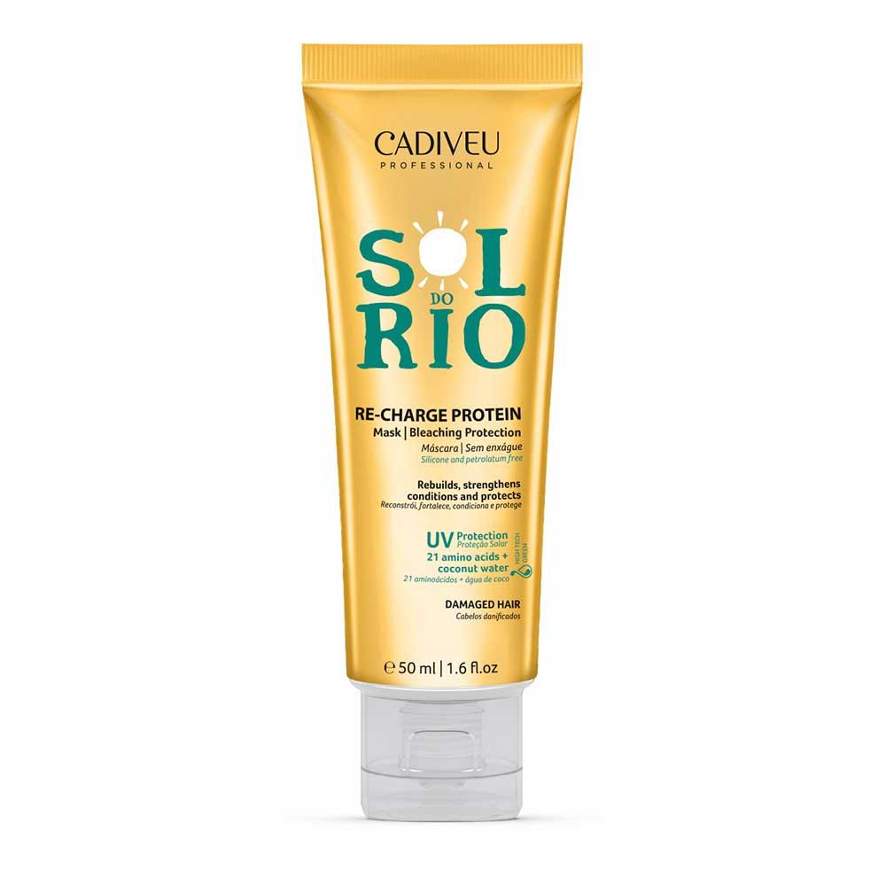 Cadiveu Sol do Rio Re-Charge Protein - Máscara sem Enxágue