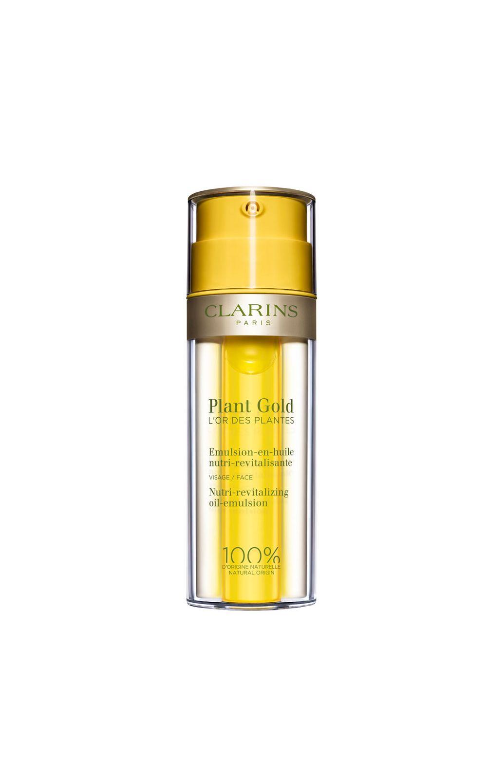 Foto 1 - Emulsão Facial Clarins Plant Gold - 38ml