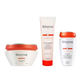 kerastase-nutritive-e-nectar-thermique-kit-shampoo-leave-in-mascara-de-tratamento