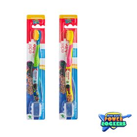 Escova-de-Dentes-Infantil-Edel-White---Flosserbrush-Kids-Mini-Beat-Power-Rockers